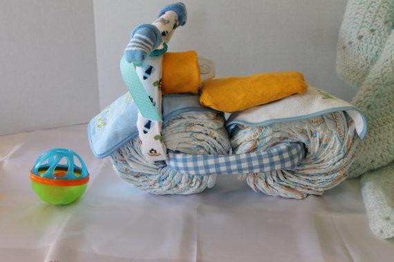 Motocicleta de los pañales - el mejor regalo para un recién nacido.  Master Class (29) (570x380, 107Kb)
