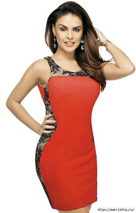 платье в классическом стиле (3) (446x700, 122Kb)