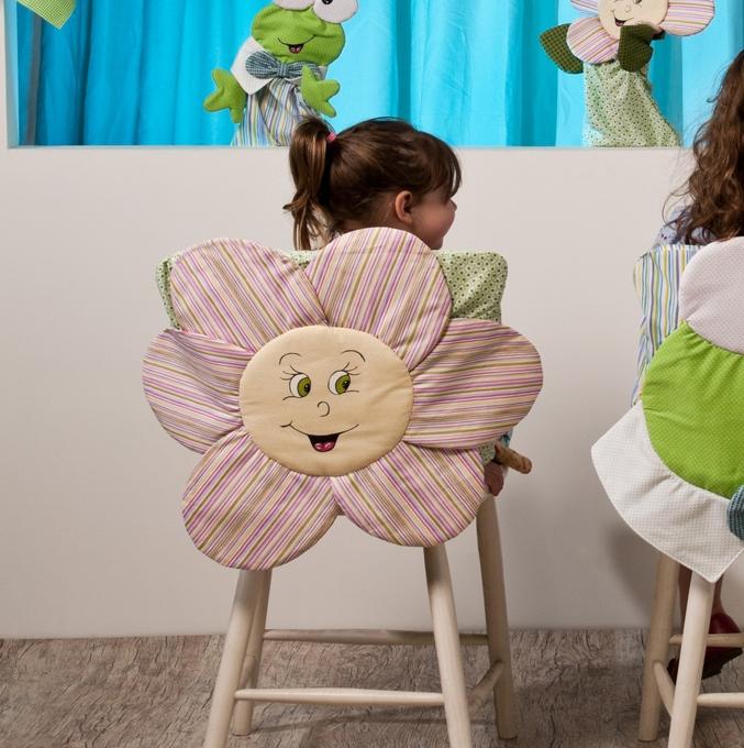 Чехол на стул своими руками детский