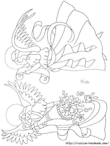 трафареты ангелов (25) (432x574, 114Kb)