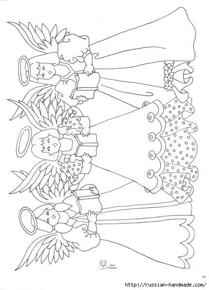 трафареты ангелов (31) (432x599, 130Kb)