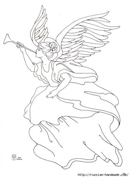 трафареты ангелов (35) (432x590, 90Kb)