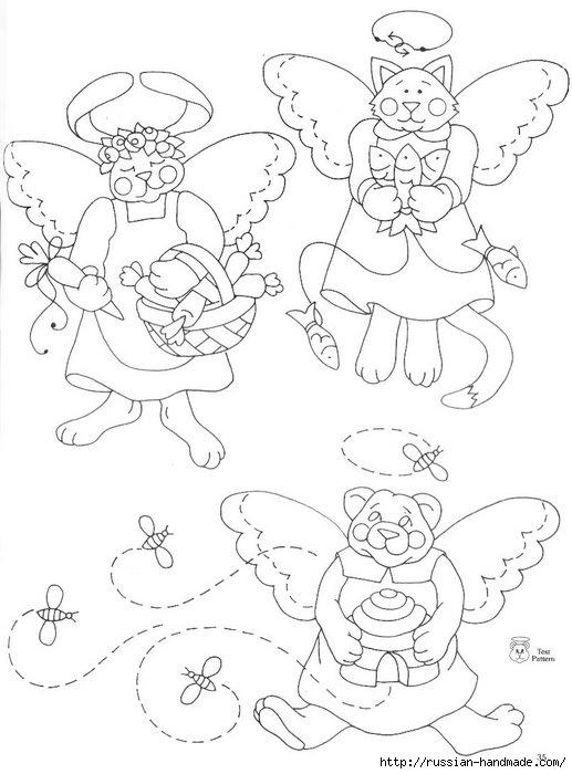 трафареты ангелов (41) (517x700, 159Kb)