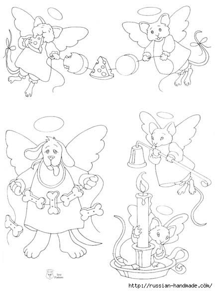 трафареты ангелов (43) (432x584, 100Kb)