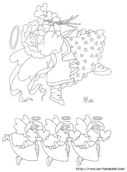 трафареты ангелов (79) (432x584, 98Kb)