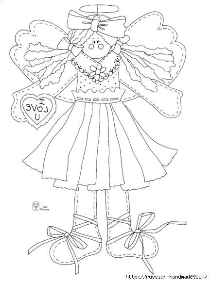 трафареты ангелов (83) (432x581, 106Kb)