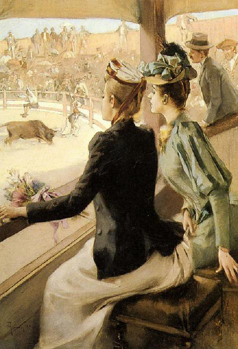 Lynch_Albert_At_The_Bullfight (478x700, 64Kb)