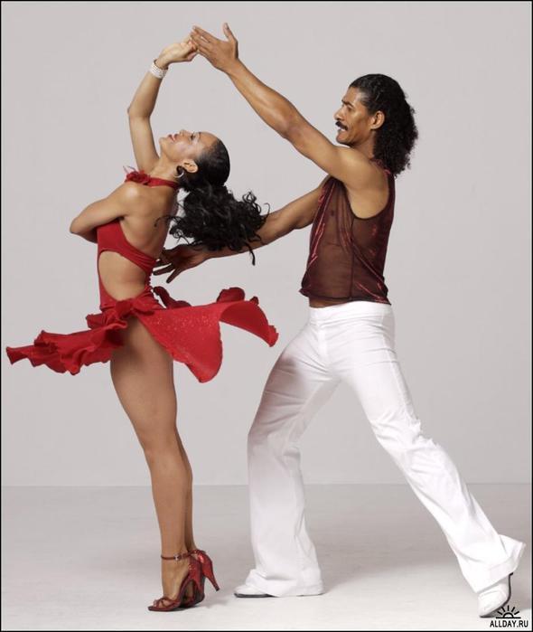 hot latino girl dancing № 490618