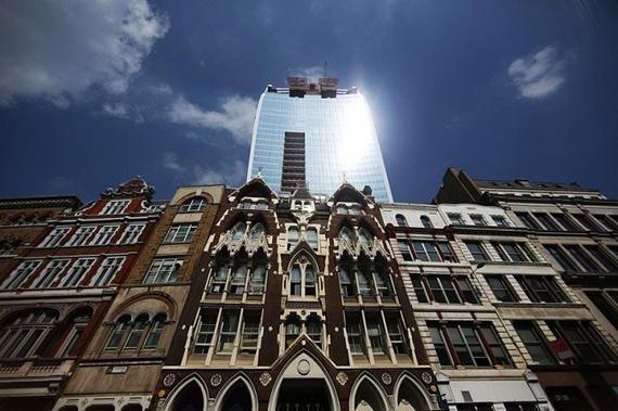 лондонский небоскреб Walkie Talkie (570x379, 168Kb)