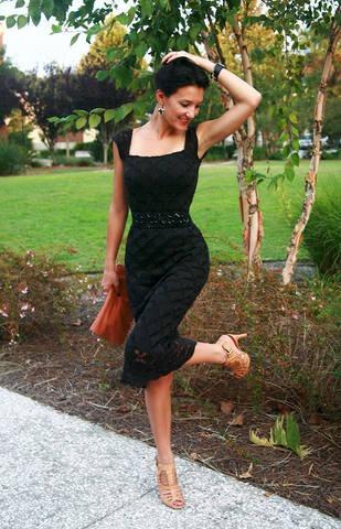 черное платье (309x480, 55Kb)