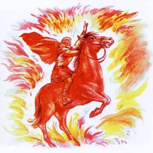 Хорс на огненном коне (501x501, 41Kb)