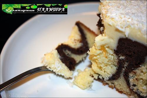 Кокосово-творожный шоколадный пирог УТРЕННЯЯ РОСА (4) (500x334, 110Kb)