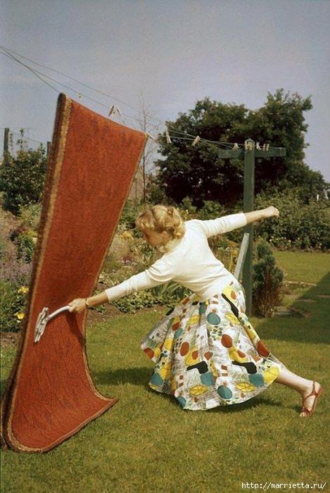 как правильно выбивать ковры (469x700, 278Kb)