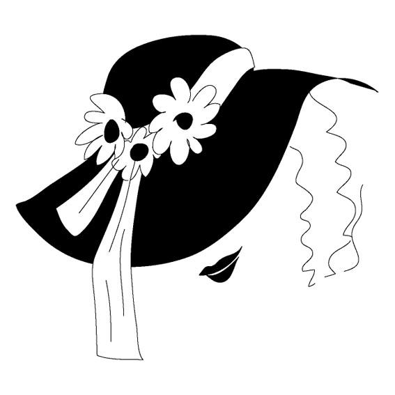 шляпа с цветами (567x567, 75Kb)