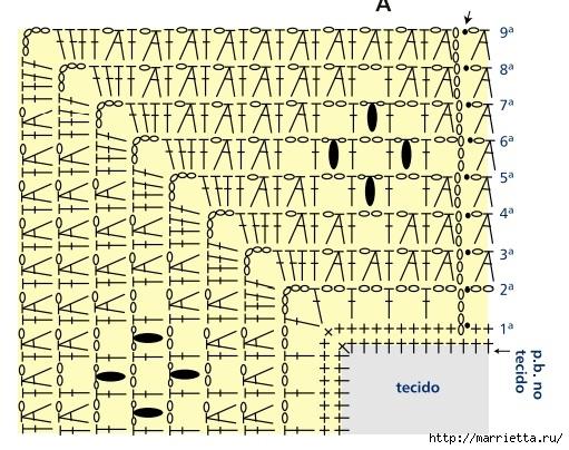 Нарядная скатерть. Ткань плюс крючок (5) (511x404, 195Kb)
