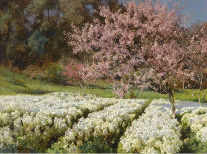 Весеннее цветение. 1905 (700x522, 86Kb)