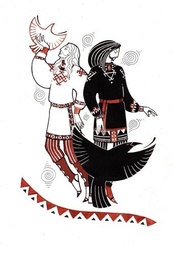 Белбог и Чернобог (344x500, 34Kb)
