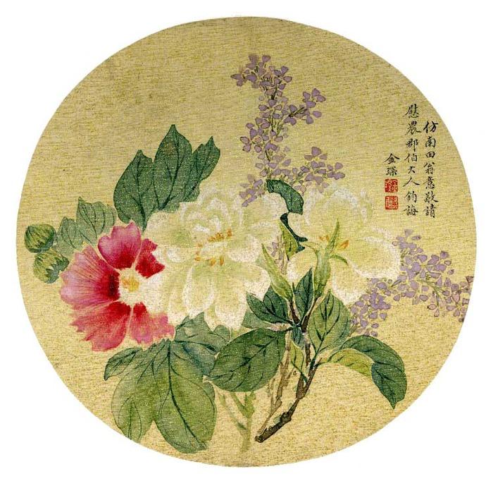 Fan, album leaf-3 (700x682, 166Kb)