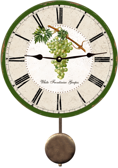 grapes-clock (400x568, 290Kb)