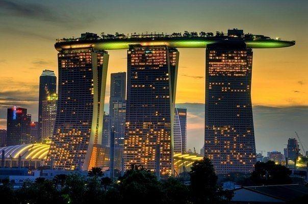 Marina Bay Sands в Сингапуре1 (604x401, 159Kb)