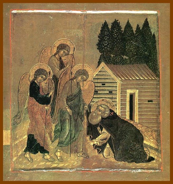 Преподобный Александр Свирский (656x700, 212Kb)