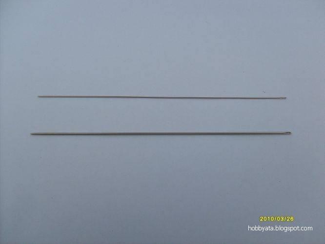 Игла для вязания фриволите 930