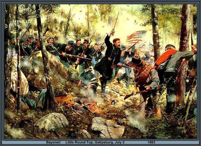 Марка Герои Гражданской Войны