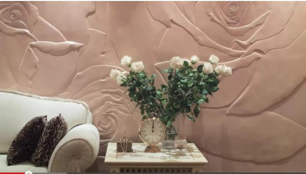 Снимок стена фреска розы (632x360, 343Kb)