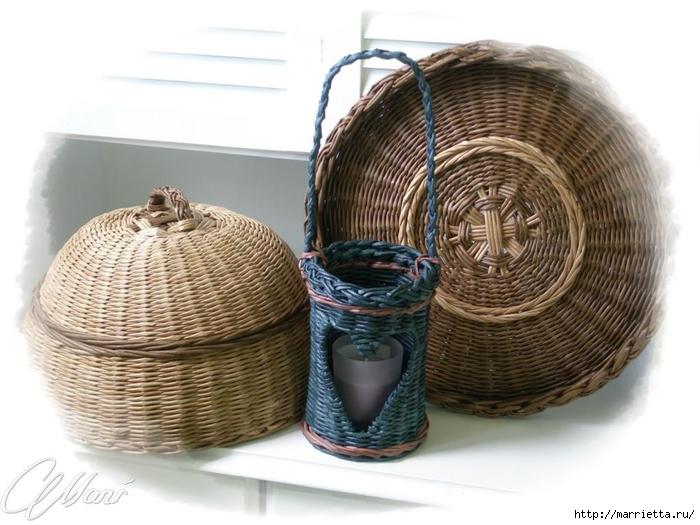 Плетение из газет. Идеи и мастер-класс на донышко плетенки (23) (700x525, 227Kb)