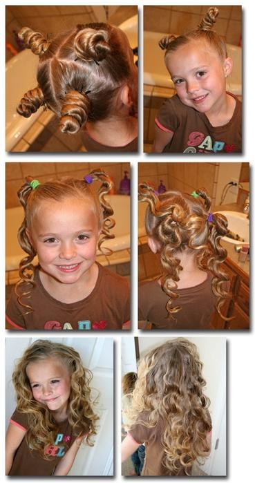 Как укладывать на ночь длинные волосы