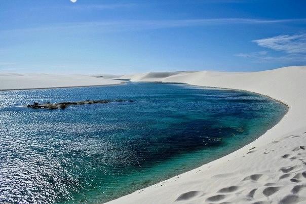 белые песок Ленсойc-Мараньенсес бразилия фото 7 (604x403, 132Kb)