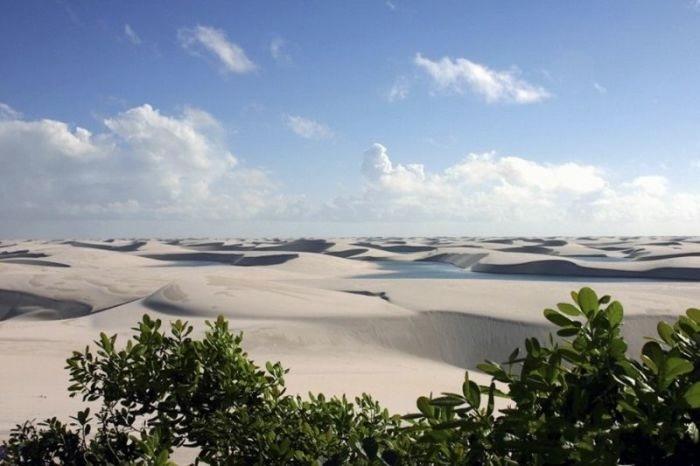 белые песок Ленсойc-Мараньенсес бразилия фото 9 (700x466, 108Kb)
