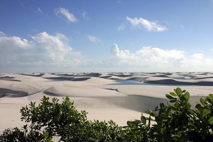 белые песок Ленсойc-Мараньенсес бразилия фото 11 (700x466, 221Kb)