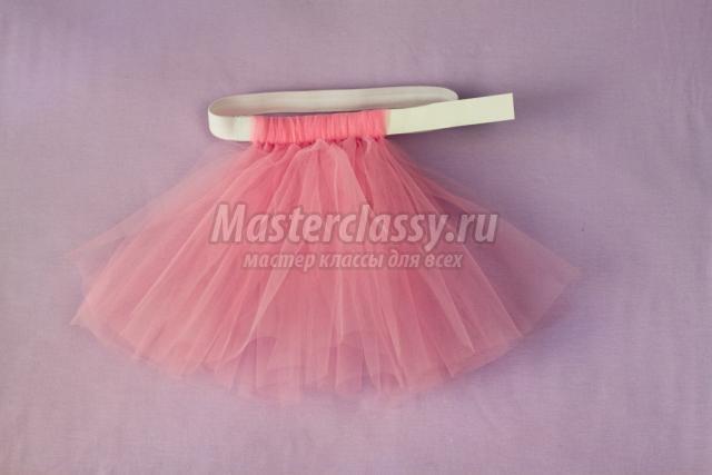 Детская юбка из фатина своими руками без шитья
