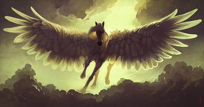 sky_horse_by_rhads-d46dw0g (700x367, 235Kb)