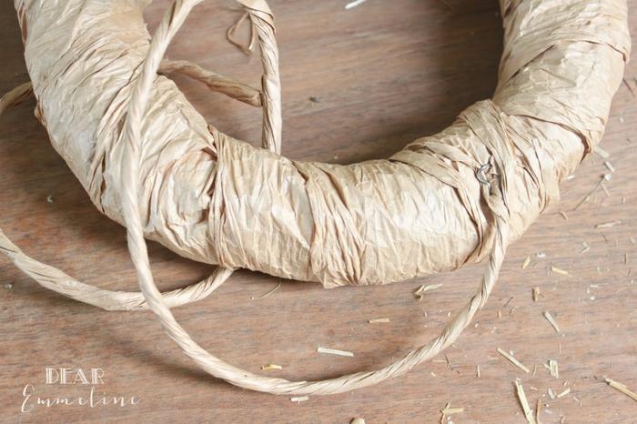 Стильный венок со стеблями пшеницы (7) (700x466, 263Kb)