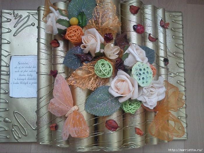 Cómo hacer un libro de decoración para un regalo.  Master Class (29) (700x525, 297Kb)