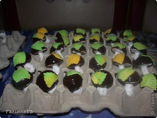 Сладкие шоколадные грибочки. Рецепт (17) (520x390, 96Kb)