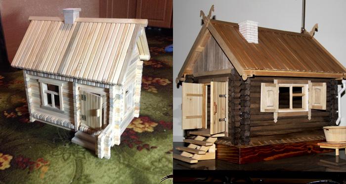 Как сделать домик для себя своими руками дома фото 745