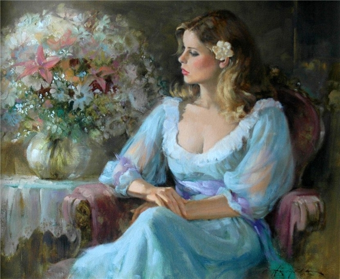Howard Rogers 1932 - Americam Figurative painter - Tutt'Art@ (6) (700x574, 301Kb)