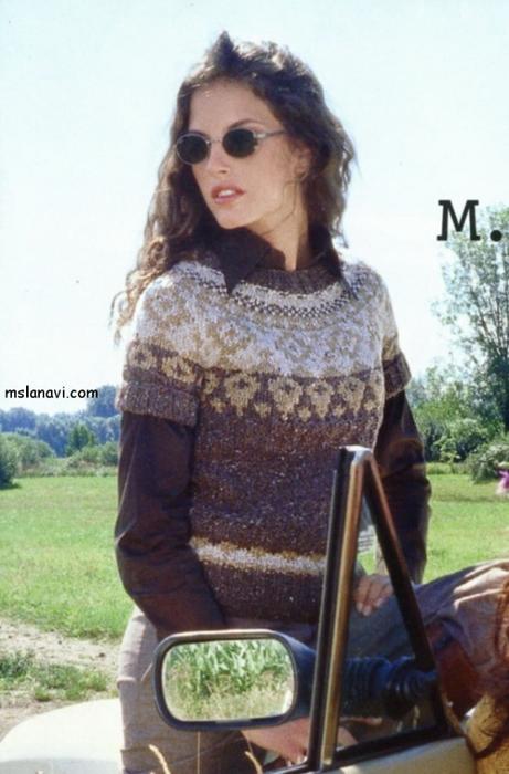жаккардовый-пуловер-0 (461x700, 215Kb)