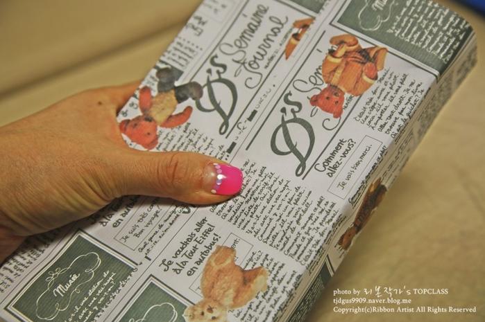 Как упаковать книжку или коробочку для подарка (6) (700x465, 510Kb)