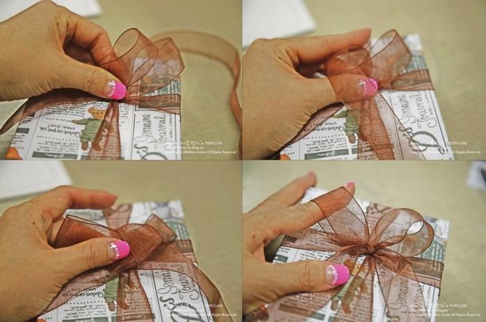 Как упаковать книжку или коробочку для подарка (13) (700x464, 457Kb)