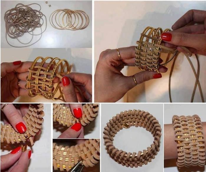 Рукоделие своими руками для браслетов