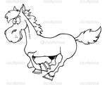 Превью depositphotos_4727180-Outlined-Cartoon-Horse-Running (700x567, 121Kb)