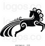 Превью royalty-free-vector-of-an-ornate-black-and-white-horse-with-swirl-hair-by-seamartini-graphics-media-3135 (600x620, 113Kb)