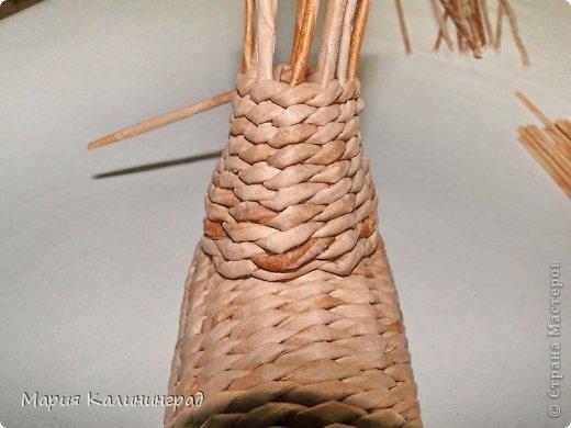 плетение из газет. лошадка из газетных трубочек (26) (520x390, 90Kb)