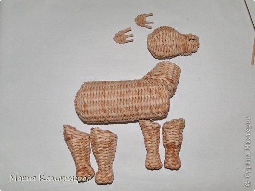 плетение из газет. лошадка из газетных трубочек (38) (520x390, 85Kb)