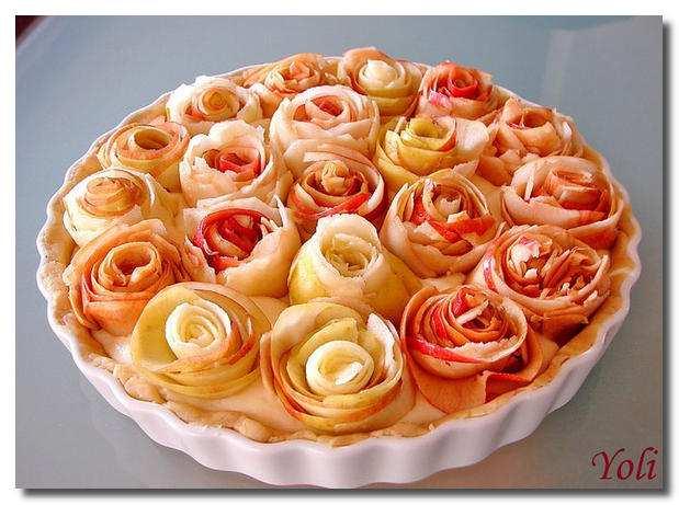Красивые пироги с яблоками рецепт