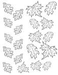 Много осенних листьев.  Мультики.  Лучшие картинки со всего интернета.
